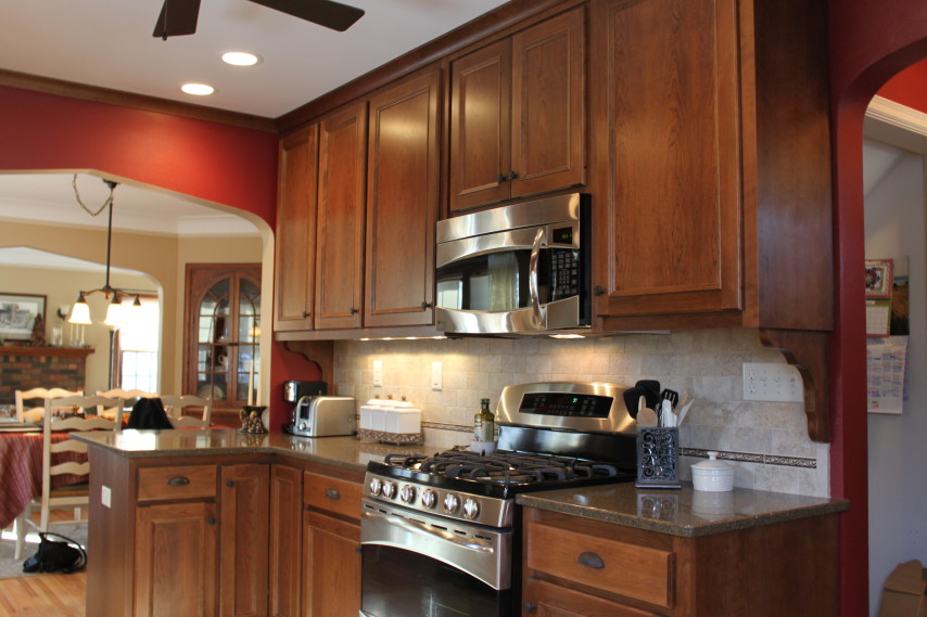 kitchen remodel, stainless steel appliances